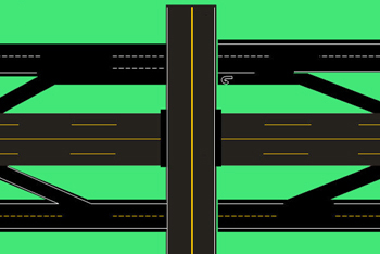 Drivers Ed Online >> Interchanges - DriversEd.com