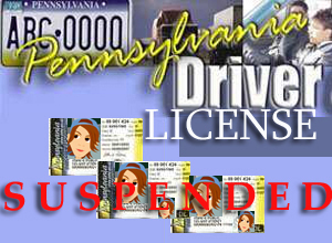 Suspended driver license