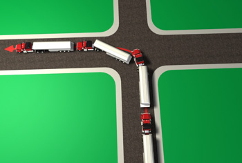 Semi Truck Turning Radius - Driving Information - DriversEd com