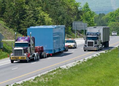 Interstate trucks