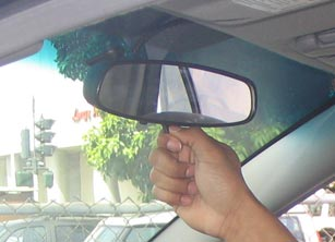 Car back mirror