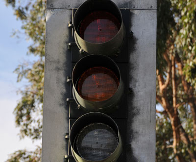 Traffic Signals Rules - What to do at a Yellow or Red