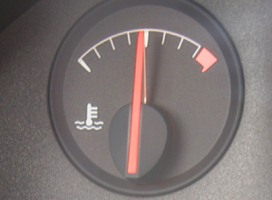 Car Temperature Gauge Normal Position