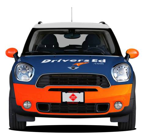 Mini Countryman Front View