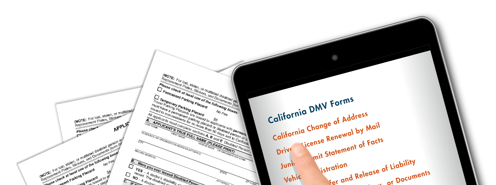 California dmv forms