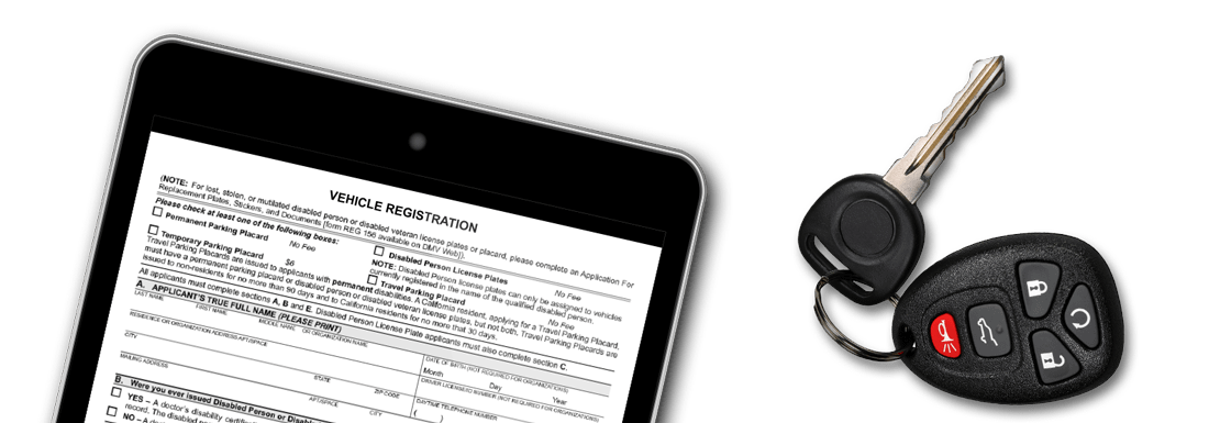 California dmv vehicle registration