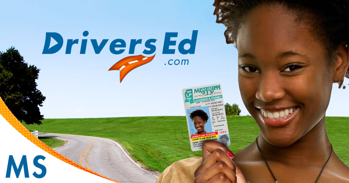 drivers permit test book mississippi