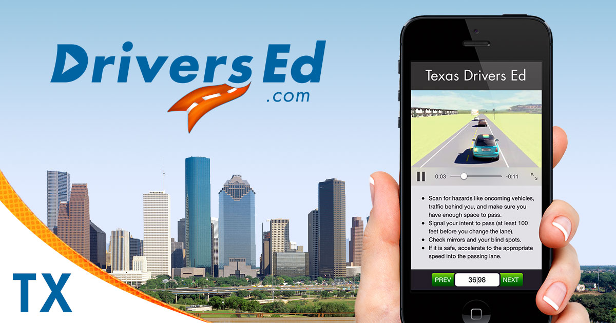 Texas Teen Online Drivers Education -The Best Teen Driving